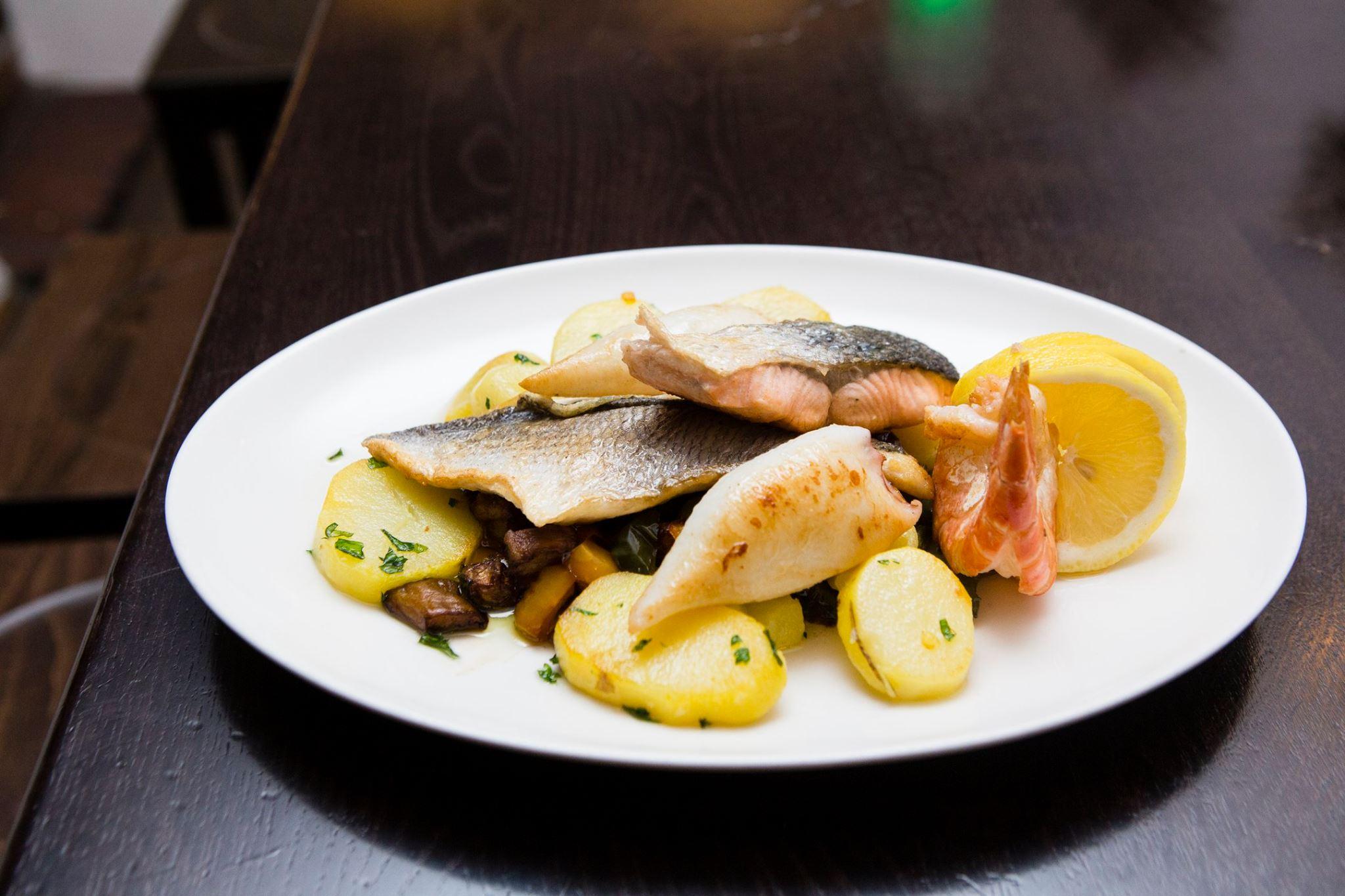 Fischteller Ali Bey Restaurant München
