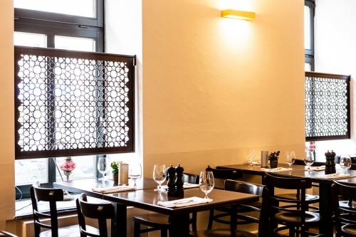 Ali Bey Restaurant Fenster